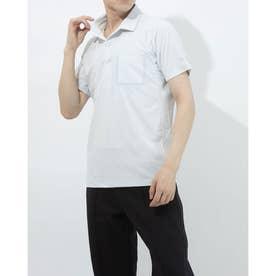 メンズ 半袖ポロシャツ サンスクリーン ポロシャツ DMMRJA70Z (ホワイト)