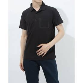 メンズ 半袖ポロシャツ サンスクリーン ポロシャツ DMMRJA70Z (ブラック)