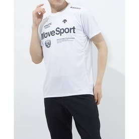 メンズ 半袖機能Tシャツ クーリスト Tシャツ DMMPJA57 (ホワイト)
