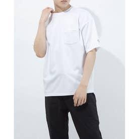 メンズ 半袖Tシャツ ビッグシルエット ハンソデシャツ DX-C0933AP (ホワイト)