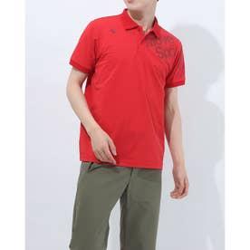 メンズ 半袖ポロシャツ TOUGH ポロシャツ DMMRJA74 (レッド)