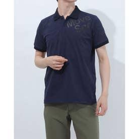 メンズ 半袖ポロシャツ TOUGH ポロシャツ DMMRJA74 (ネイビー)