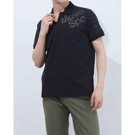 メンズ 半袖ポロシャツ TOUGH ポロシャツ DMMRJA74 (ブラック)