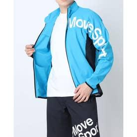 メンズ クロスジャケット クーリストクロススタンドジャケット DMMPJF16 (ブルー)