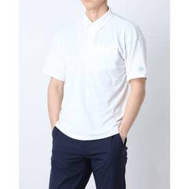 メンズ 半袖ポロシャツ ポロシャツ DX-C0929AP (ホワイト)