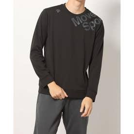 メンズ 長袖Tシャツ S.F.TECHソフトナガソデシャツ DMMSJB54 (ブラック)