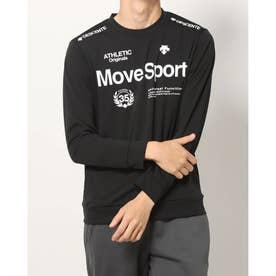 メンズ 長袖Tシャツ S.F.TECH ナガソデシャツ DMMSJB52 (ブラック)