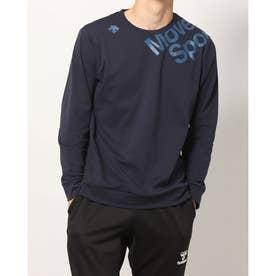 メンズ 長袖Tシャツ S.F.TECHソフトナガソデシャツ DMMSJB54 (ネイビー)