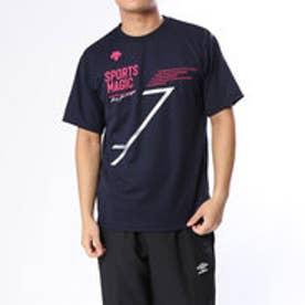 バレーボール 半袖Tシャツ 半袖プラクティスシャツ DVUMJA52