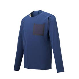ENGINEERED KNIT L/S SHIRT (NAVY)