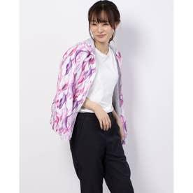 レディース ウインドジャケット ソウガラGウィンドJK(ウラメッシュ DMWPJF30 (ピンク)