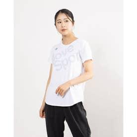 レディース 半袖機能Tシャツ SUNSCREEN ハンソデTシャツ DMWRJA50 (ホワイト)