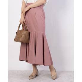 タイプライターマーメイドスカート (ピンク)