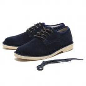 SFW スエード・プレーントゥシューズ / CASUAL SUEDE SHOES (ネイビー)