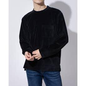 ディア ローレル  メンズ長袖Tシャツ(ブラック)