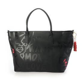 PVCショッピングバッグ WANT HOLBOX (グレー/ブラック)