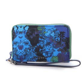 小財布 CAMOFLOWER MINI ZIP (ブルー)