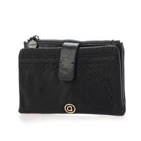 財布 ALKALINA PIA MINI (グレー/ブラック)