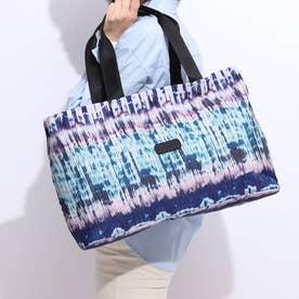 スーツケース DUFFLE BAG PLEATS BLACK (ブルー)