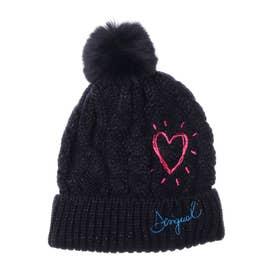 帽子 HEART (ブルー)
