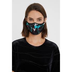 マスク LETTERING【返品不可商品】 (ブラック)