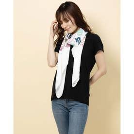 四角スカーフ (ホワイト)