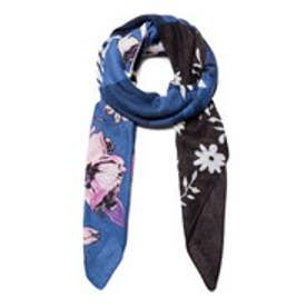 長方形スカーフ YESQUERE (ブルー)