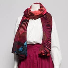 長方形スカーフ SINERGIA (ブルー)