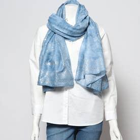 スカーフ GALAXY (ブルー)