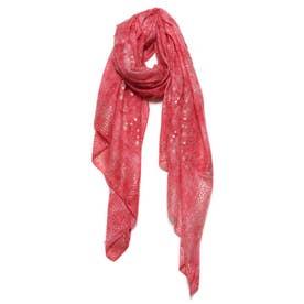 スカーフ GALAXY (ピンク/レッド)