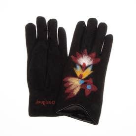 手袋 LOVELY (グレー/ブラック)
