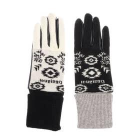 手袋 ETHNIC (グレー/ブラック)