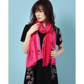 スカーフ MISTERY (ピンク/レッド)