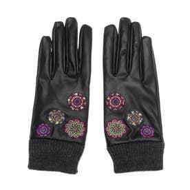 手袋 ASTORIA (グレー/ブラック)