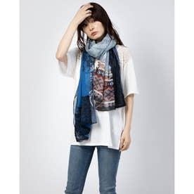 スカーフ PATCH NIGHT BRIGHT (ブルー)