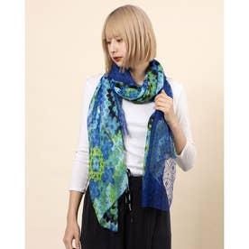スカーフ GALACTIC HYPNOTIC (ブルー)