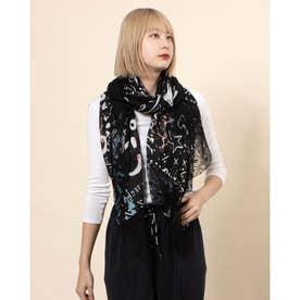スカーフ JALEO (グレー/ブラック)