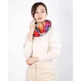 四角スカーフ UNBREAKABLE SQUARE (ピンク/レッド)