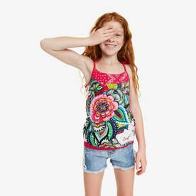 Tシャツ (ピンク/レッド)