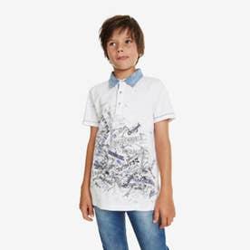 ポロシャツショート (ホワイト)