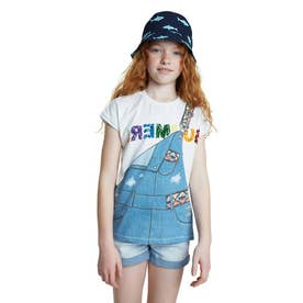 Tシャツ半袖 LEICESTER (ホワイト)
