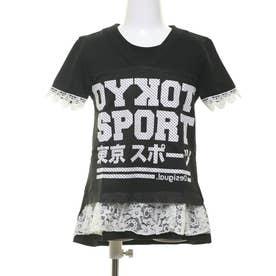Tシャツ半袖 ORIZABA (グレー/ブラック)