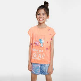マリンポケット Tシャツ (オレンジ)