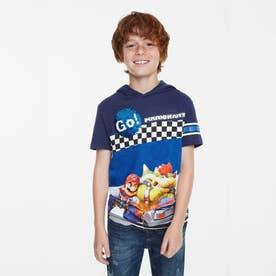 Tシャツ半袖 RACE (ブルー)