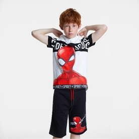 Tシャツ半袖 HERO (ホワイト)