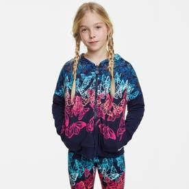 スウェットジャケット CAROLINA (ブルー)