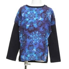 Tシャツ長袖 BLUE (ブルー)