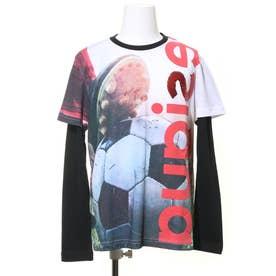 Tシャツダブル袖 ENRIC (ホワイト)