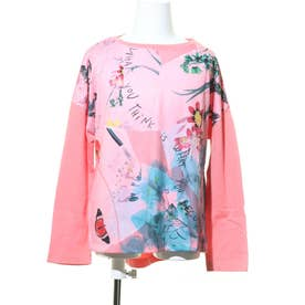 Tシャツ長袖 WATFORD (ピンク/レッド)