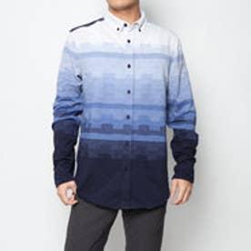 シャツ長袖 (ブルー)